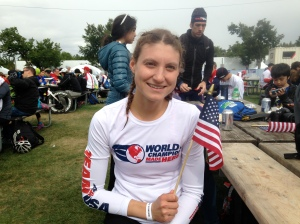 Results were finally in, I did it , #1, USA, World Champ :-)