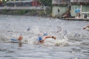 Swim start!