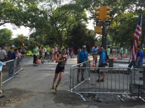 Approaching the finish line.