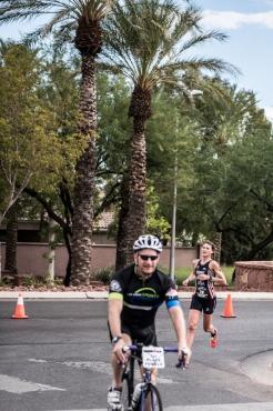 Photo thanks to Brian Pomeroy! I love having a lead bike :-)