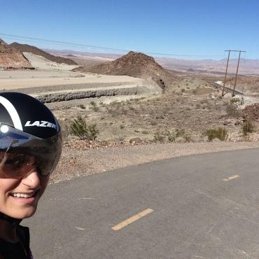 Desert Lazer Selfie.