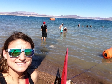 Lake Mead Lazer Selfie