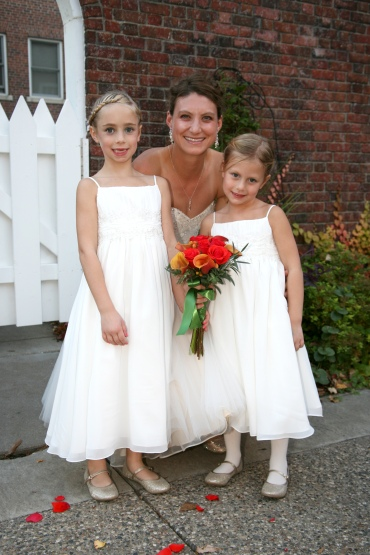 My flower girls and two of my favorite little people :-)