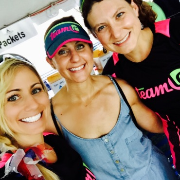 I also met some Tri Team LC teammates!